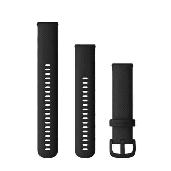 Garmin Quick Release Bands (20 Mm) Black 010-13021-03