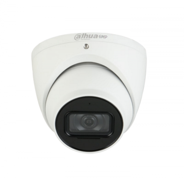 Dahua 6mp Ip Turret Fixed 2.8mm Built-in Mic Icrwdrivsip67poe DH-IPC-HDW3641TMP-AS-0280B-AUS