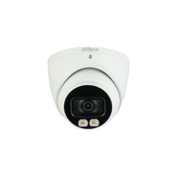 Dahua Ai 4mp Starlight+ Ip Turret Fixed 2.8mm Micicr+white Light Wdr DH-IPC-HDW5442TMP-AS-LED-0280B