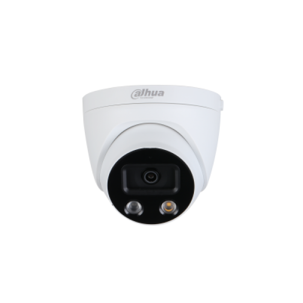 Dahua 5mp Ai Active Deterrence Starlight Ip Turret Fixed 2.8mm Built-in DH-IPC-HDW5541HP-AS-PV-0280B