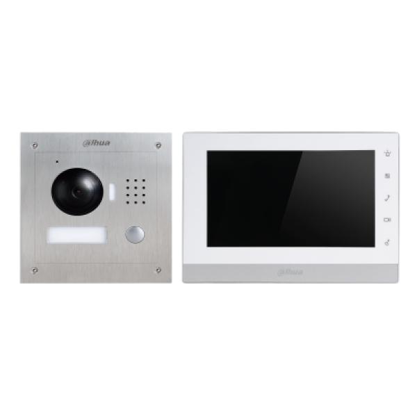 Dahua Dhi-vtk-vto2000a-2-vth1550chw-2 2 Wire Ip Interccom Kit DHI-VTK-VTO2000A-2-VTH1550CHW-2 (S)