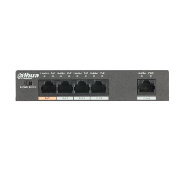 Dahua 4 Port Poe Switch Unmanaged DH-PFS3005-4ET-60
