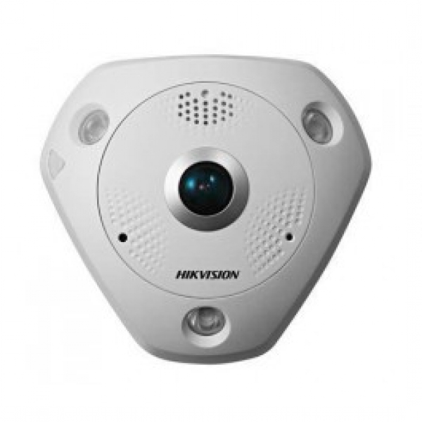 Hikvision 1.29mm 12mp Outdoor Fisheye 360 Heat Map DS-2CD63C5G0-IS