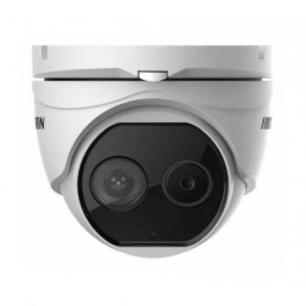 Hikvision Thermal & Optical Network Turret Camera DS-2TD1217-2-V1 2mm