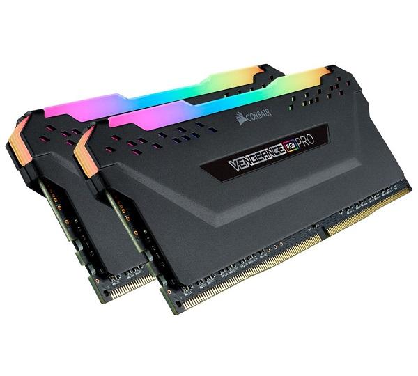 Corsair Vengeance Rgb Pro 32gb (2x16gb) Ddr4 3600mhz C18 Desktop Gaming M CMW32GX4M2D3600C18