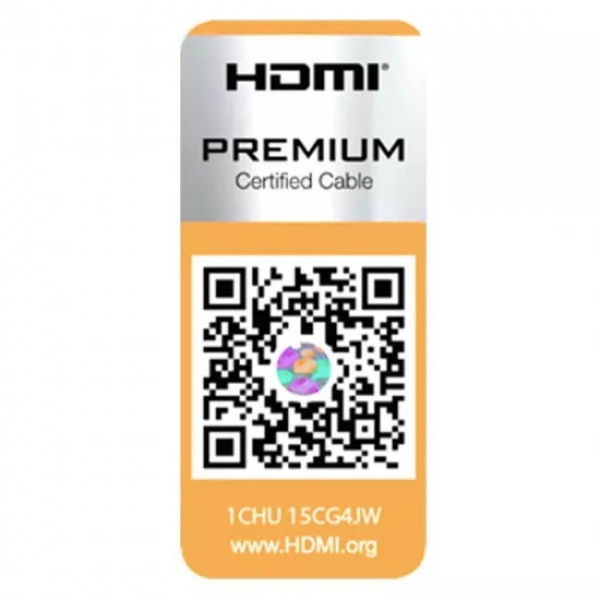 Laser Hdmi V2.0 Cable Premium Certified 4k Gold In 2m - Moq 4 CB-HDMI2-4K