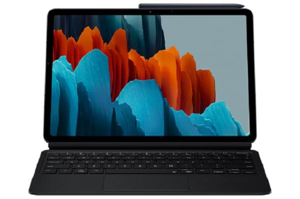 Samsung Samsung Tab S7 Keyboard Cover Black EF-DT870UBEGWW