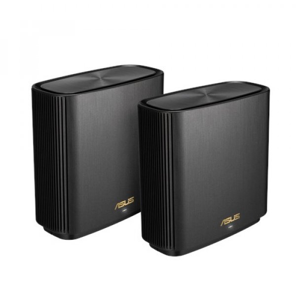 Asus Zenwifi Xt8 Ax6600 Wifi 6 Tri-band Whole-home Mesh Routers Black  XT8 (B-2-PK)
