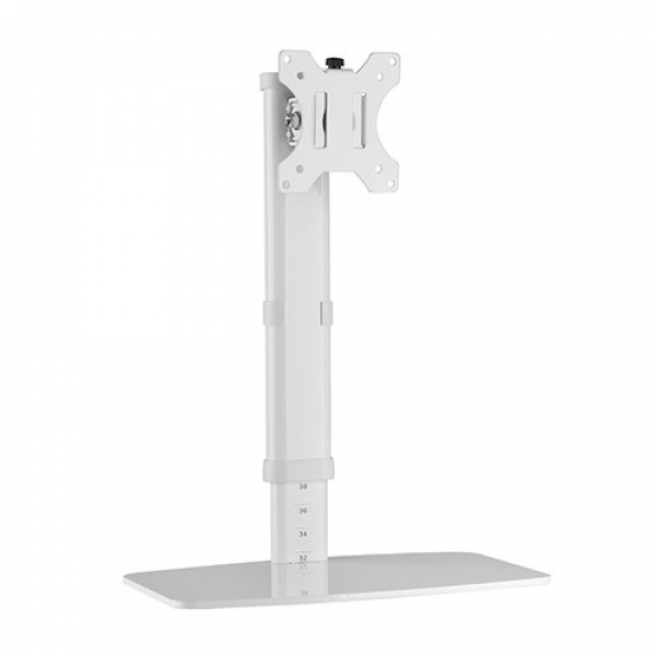 Brateck Single Screen Vertical Lift Monitor Stand Fit Most 17'-27in Monito LDT19-T01