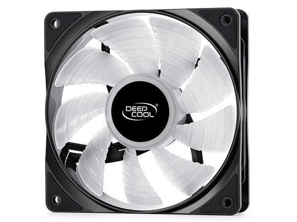 Deepcool Rf120 3 In 1 Pack High Brightness Rgb Led Fans 120mm DP-FRGB-RF120-3C