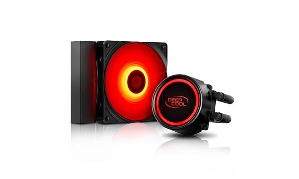 Deepcool Gammaxx L120t Red Intel Lga1366/lga115x/1200 Amd Am4 Am3 DP-H12RF-GL120TR