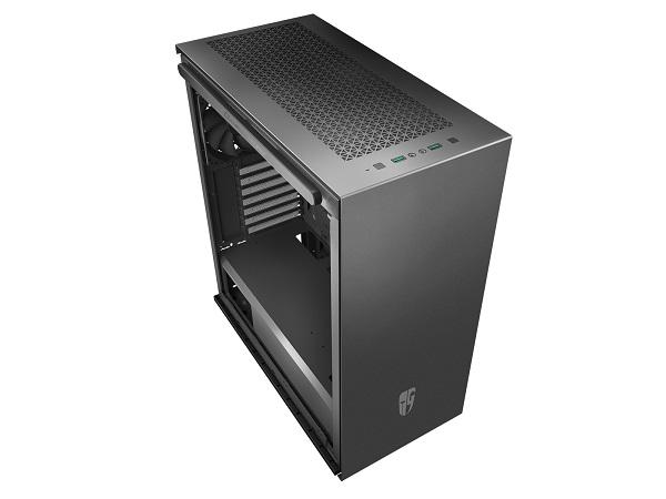 Deepcool Macube 310p Bk Tempered Glass Case Black Usb3.02 7+2 Slo GS-ATX-MACUBE310P-BKG0P