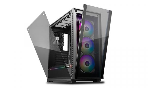 Deepcool Matrexx 70 Add-rgb 3f Full Sized Tempered Glass Argb Cas DP-ATX-MATREXX70-BKG0P-3F