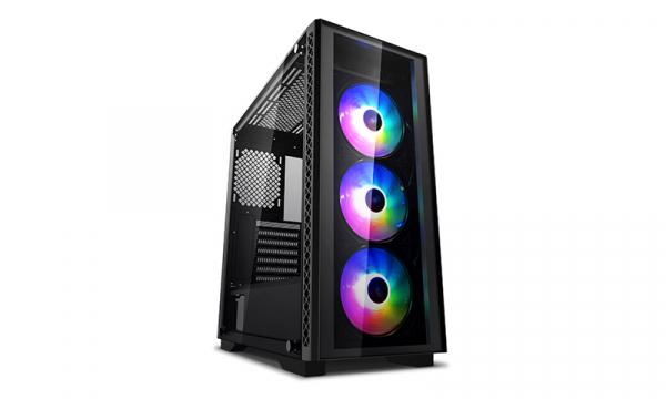 Deepcool Matrexx 50 Add-rgb 3f Minimalistic Mid-tower Case 3 Rein DP-ATX-MATREXX50-AR-3F-US