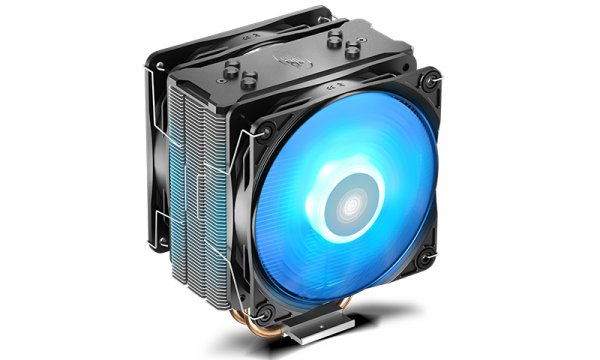 Deepcool Gammaxx 400 Pro Cpu Cooler 4 Heatpipes 120mm Pwm Led Fan DP-MCH4-GMX400PRO-BL