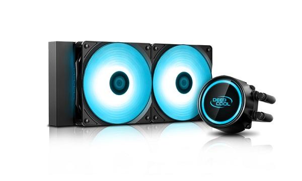 Deepcool Gammaxx L240t Blue Intel Lga20xx/1366/115x/1200 Amd Am4  DP-H12RF-GL240TB