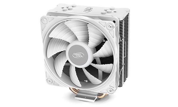 Deepcool Gammaxx Gte V2 White Non Rbg Cpu Cooler Intel Lga1200/11 DP-MCH4-GMX-GTE-V2WH