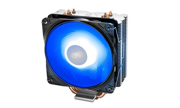 Deepcool Gammaxx 400 V2 Blue Cpu Cooler 4 Heatpipes 120mm Pwm Led DP-MCH4-GMX400V2-BL