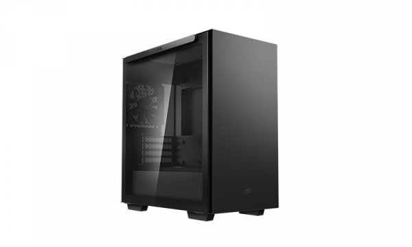 Deepcool Macube 110 Black Minimalistic Micro-atx Case Magnetic Te R-MACUBE110-BKNGM1N-G-1