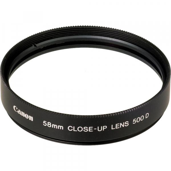 CANON 58mm Close-up Lens (requires La-dc58c) To 500D