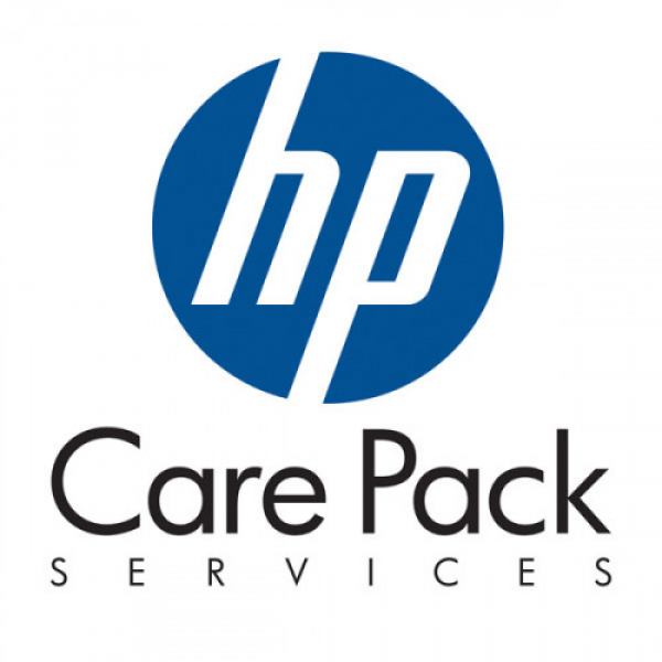 Hp Care Pack 3 Year Next Business Day Onsite Notebook Only Service - U9BA7E