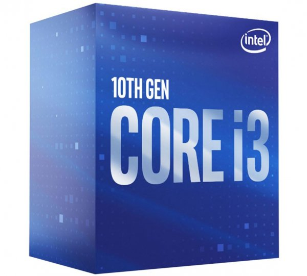 Intel New Core I3-10100f Cpu 3.6ghz (4.3ghz Turbo) Lga1200 10th Gen 4-c BX8070110100F