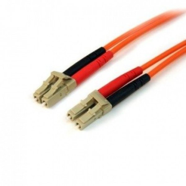 STARTECH 2m Multimode 50/125 Duplex Fiber Patch 50FIBLCLC2