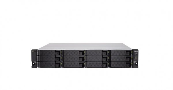 Qnap Qnap 12-bay Nas Intel Xeon E-2236 6 Cores/12 Threads 3.4 Ghz Proc TS-h1283XU-RP-E2236-128G