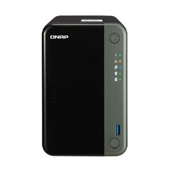 Qnap 2 Bay Intel Celeron J4125 Quad-core 2.0 Ghz 4 Gb So-dimm Ddr4 2x3 TS-253D-4G
