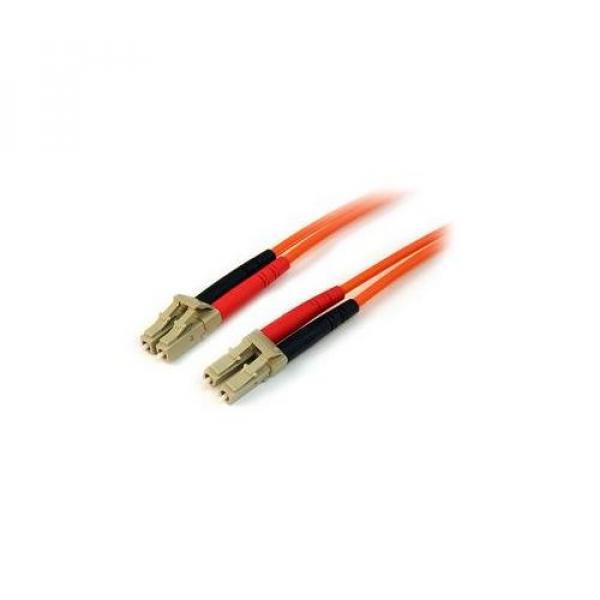 STARTECH 3m Multimode 50/125 Duplex Fiber Patch 50FIBLCLC3