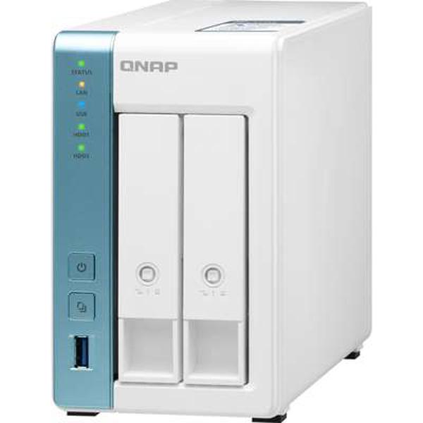 Qnap 2 Bay Nas Annapurnalabs An Amazon Company Alpine Al314 4-core 1.7 TS-231P3-2G