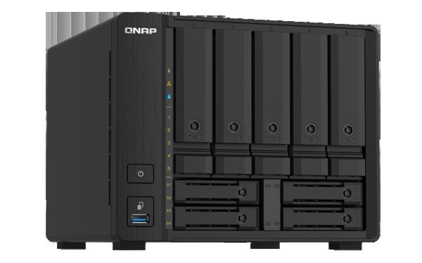 Qnap Qnap 9 Bay Nas Al324 64-bit Quad-core 1.7ghz 4gb Ddr4 Ram 2x10gbe TS-932PX-4G