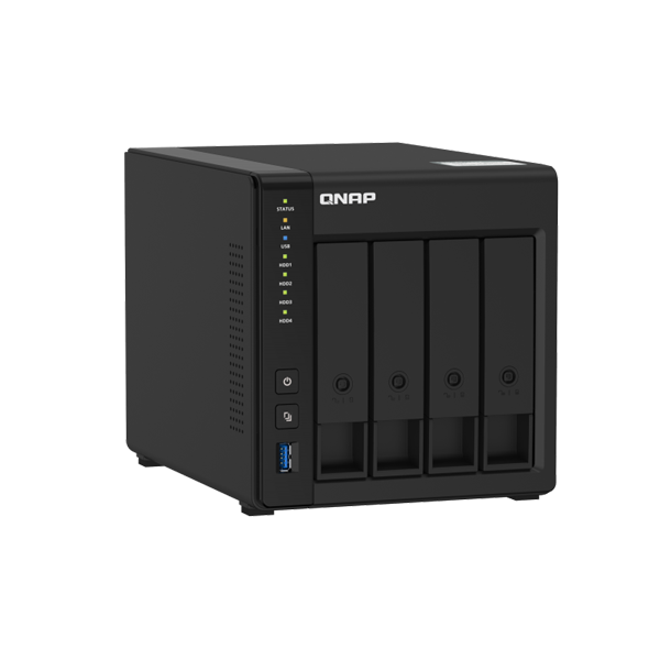 Qnap 4 Bay Nas Intel Celeron J4025 Dual-core 2.0 Ghz Processor 2 Gb So TS-451D2-2G