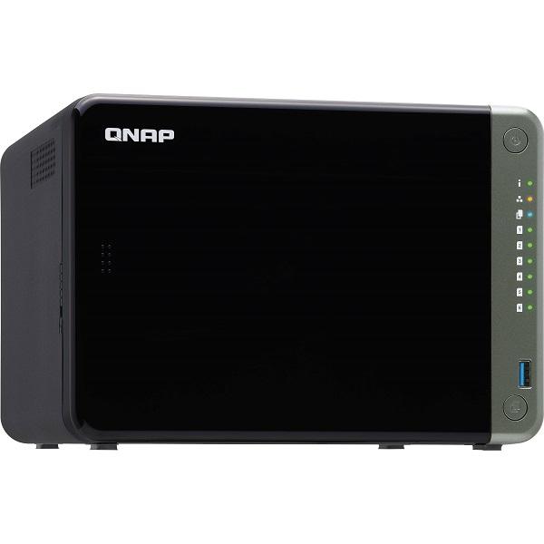 Qnap 6-bay Nas Intel Celeron J4125 Quad-core 2.0ghz 8gb Ddr4 Sodimm Ra TS-653D-8G