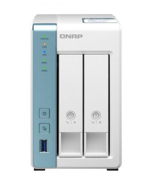 Qnap 2 Bay Nas Annapurnalabs An Amazon Company Alpine Al314 4-core 1.7 TS-231P3-4G
