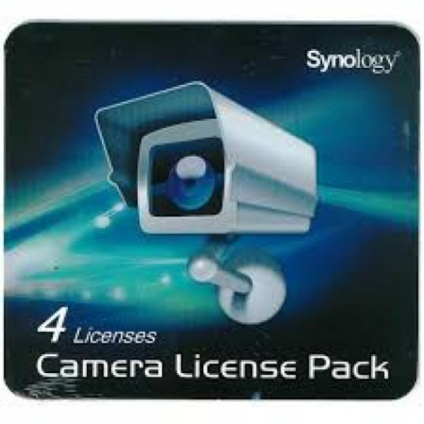 Synology 4 Pack Surveillance Device License Pack SY60020