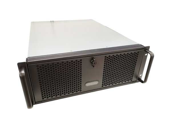TGC Rack Mountable Server Chassis 4u 570mm Depth 6x Ext 5.25' Bays 4x TGC-4450MG-2