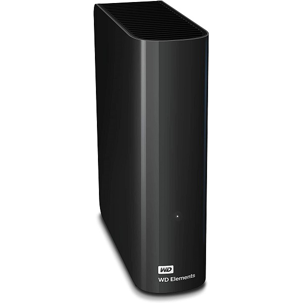 Western Digital Wd Elements Desktop 12tb Usb 3.0 3.5in External Hard Drive - Black WDBBKG0120HBK-AESN