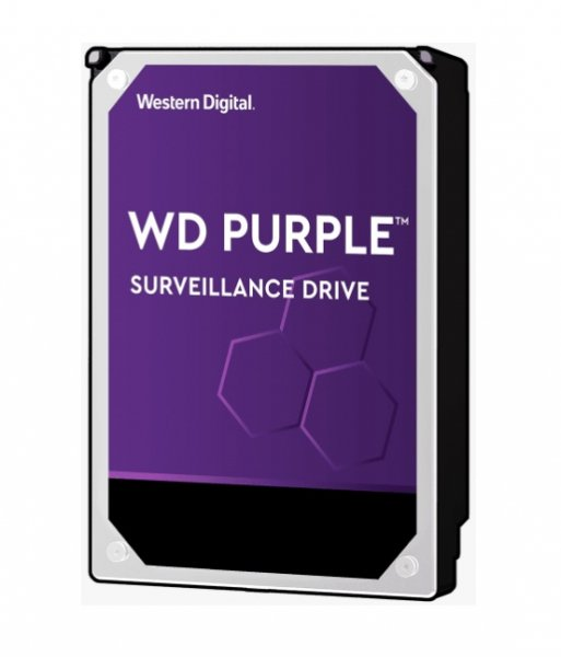 Western Digital Wd Purple 18tb 3.5in Surveillance Hdd 7200rpm 512mb Sata3 6gb/s 25 WD180PURZ