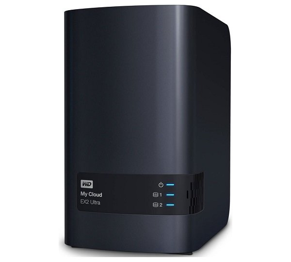 Western Digital Wd My Cloud Ex2 Ultra 24tb 2 Bay Nas 1.3ghz Dual-core 1gb Ddr3 Ra WDBVBZ0240JCH-SESN