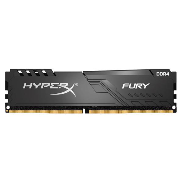 Kingston HyperX Fury  32gb 2666mhz Ddr4 Cl16 Dimm (kit Of 2) Black HX426C16FB4K2/32