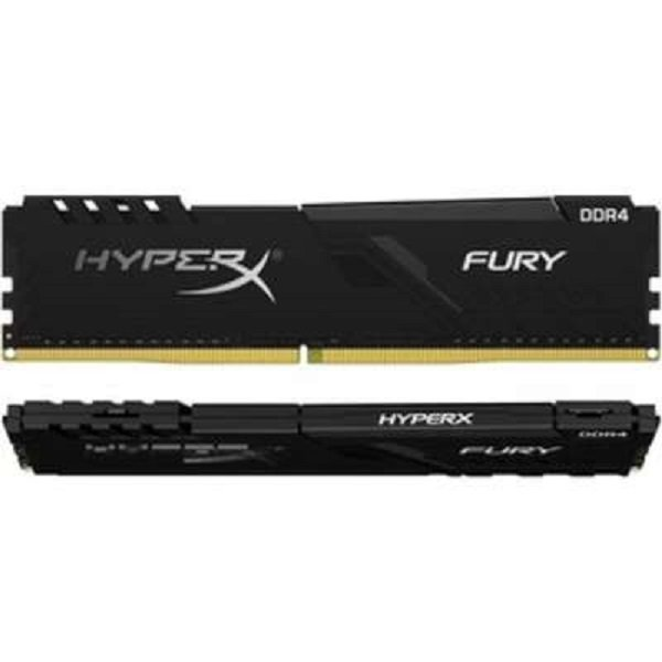Kingston HyperX Fury 16gb 3200mhz Ddr4 Cl16 Dimm (kit Of 2) 1rx8 Black HX432C16FB3K2/16