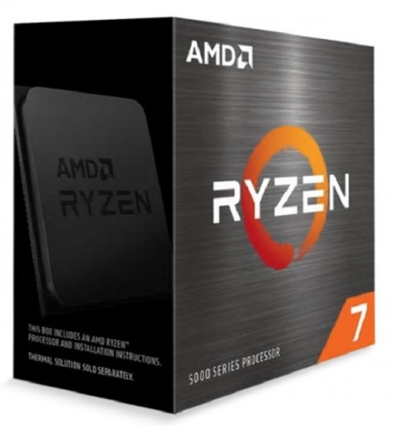 Amd Ryzen 7 5800x Zen 3 upto 4.7Ghz 100-100000063WOF
