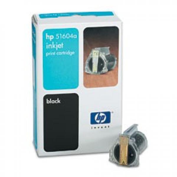 HP Black Plain Paper Ink Cartridge 51604A