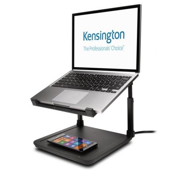 KENSINGTON Laptop Riser with Qi Wireless 52784