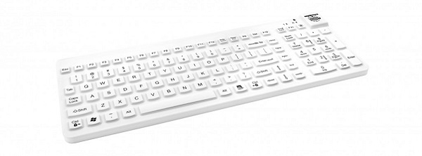 Man And Machine Really Cool Magfix Keyboard-white RCLP/MAG/W5