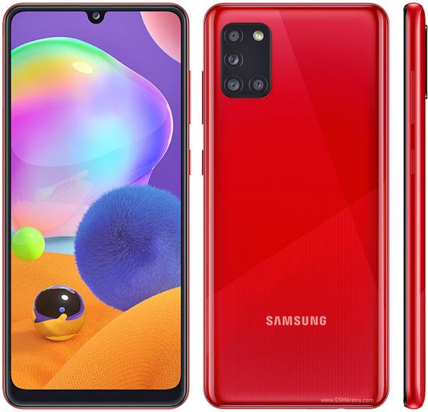 Samsung Galaxy A31 128gb Crush Red - Dual Sim 6.4