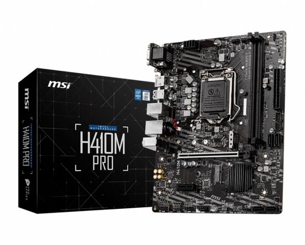 Msi H410M-PRO Matx Motherboard