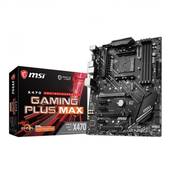 Msi X470 GAMING PLUS MAX Ryzen Motherboard