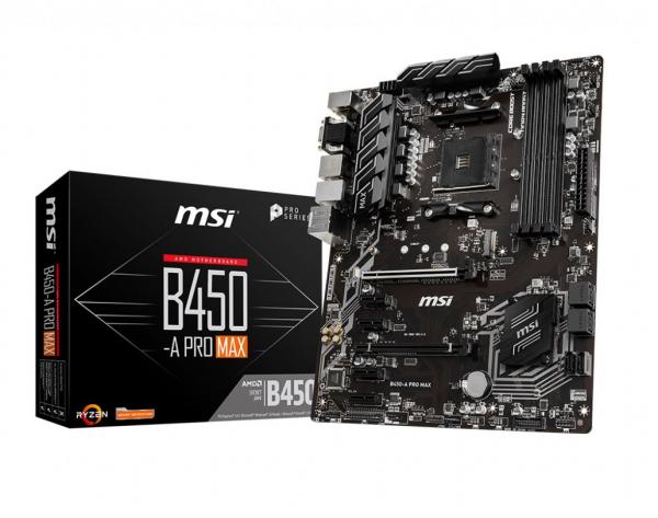 Msi B450-A PRO MAX Ryzen Atx Motherboard